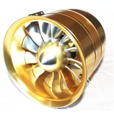 120 mm all-alloy CNC ducted fan unit